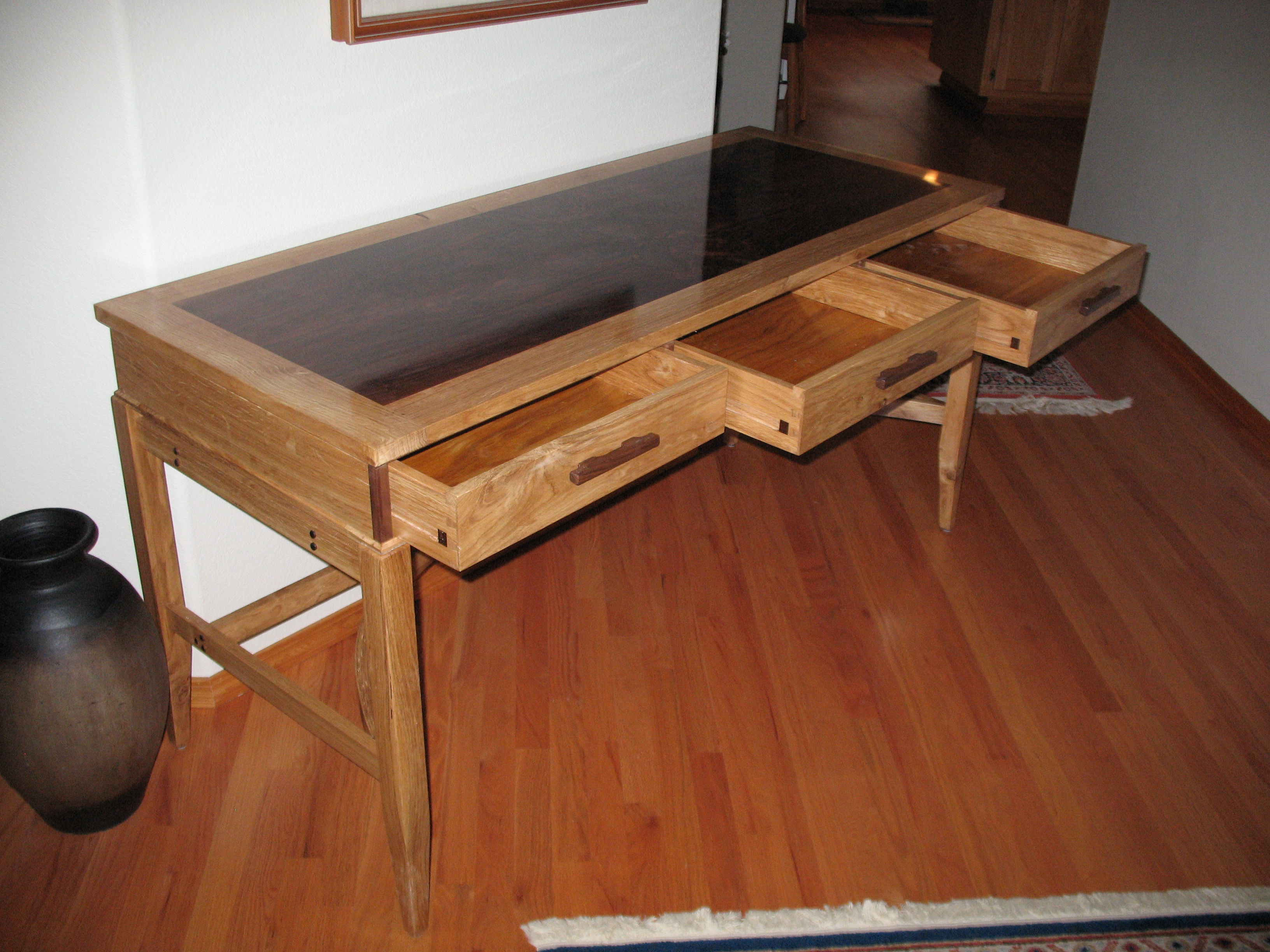 Writing Desk With Drawers. Interesting Clp Writing Desk Genesis Drawers And Wide Desk Area X ...